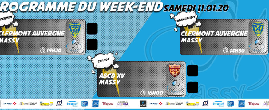 nouveau programme du weekend 2020