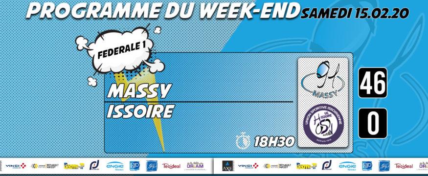 nouveau programme du weekend 15.02.20