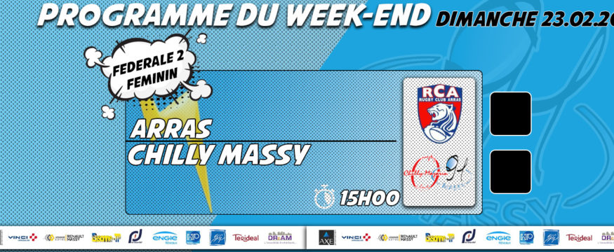 nouveau programme du weekend 23.02.20